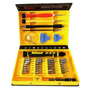 Kaisi 38 em 1 chave de fenda Set multiuso telefone Abertura Repair Tool para PC, laptop, celular Phone Tools Conjuntos