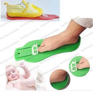 2017 NUOVO Bambino Bambino Infant Foot Measure Gauge Shoes Size Measuring Ruler Tool SPEDIZIONE GRATUITA MYY