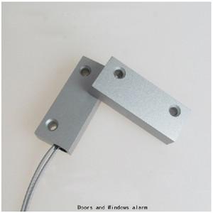 Ücretsiz nakliye Kapı Sensörü Kablolu Kablo Pencere Kapı İletişim Manyetik Anahtarı Alarmı 10 Pai kapı Hinger
