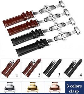 Pulseira de couro genuíno faixa de relógio pulseira de relógio para omega tissot pulseira para hamilton 12/13/14/16/17/18/19/20/22 / 24mm + ferramenta