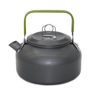 0.8L Portable Ultra-light Outdoor Kettle - Hiking Camping Picnic Water Kettle Teapot Coffee Pot Anodised Aluminum (Retail Box Packaging)