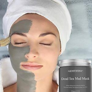 2017 Maschera di fango del Mar Morto Maschera Deep Deep Skin Deternice Riduttore del poro detossificatore confezionato con vitanine per promuovere la pelle giovanile