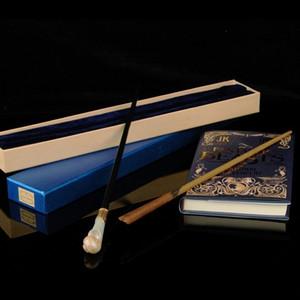 17 أنماط هوجورتس هاري بوتر سلسلة العصا السحرية ترقية جديدة الراتنج مع المعادن الأساسية # 16 نيوت سكاماندر # 17 كويني جولدشتاين العصا السحرية
