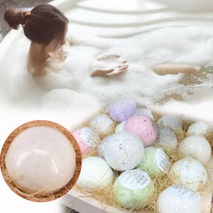 Handmade Deep Sea Bath Salt Bomb Bagno di sale sfera Idromassaggio Skin Care 16 100g *