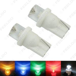 FEELDO 50PCS 자동 차 5 색 T10 194 168 1 - LED 오목 LED 웨지 자료 대시 보드 LED 전구 # 3167