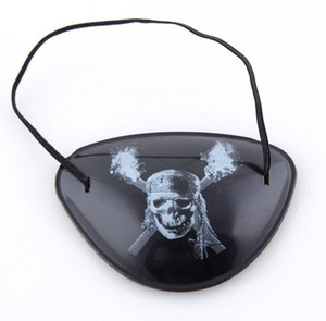 Masque de fête Cool Eye Patch Blindage accessoires pirate One-eye Pirate Eyepatch avec Flexible Corde pour Noël Halloween Costume Enfants Jouet