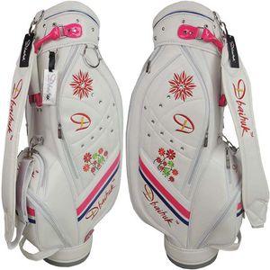 Wholesale- Free shipping 2016 NEW Dbaihuk golf ball bag, pu golf bag,woman's golf clubs bag