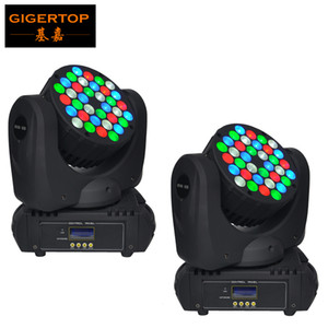 2pcs / lot 36 X 5W Led Beam Wash Moving Head Light 36 CREE LEDs (R8,G10,B10,W8) Super Compact for disco, bar, club