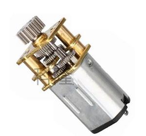 2 UNIDS GA12YN20-298 0.9kgf.cm NO.46 Cobre / Acero Inoxidable Micro Gear Torque Motor DIY Miniatura DC Motor Con Engranaje