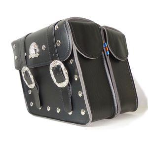 할리 새로운 오토바이 액세서리 파우치 (+ 좌우) 2 × 보편적 인 오토바이 안장 안장 가방