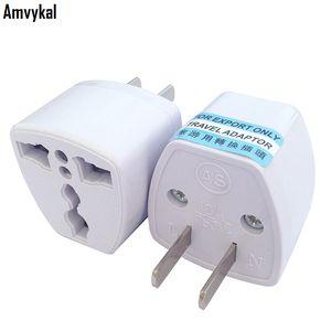 Amvykal cargador de viaje de alta calidad AC energía eléctrica UK AU UE a nosotros Adaptador de enchufe convertidor EE.