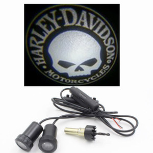 Universal 7W LED Car Door Player Projector Ghost Shadow Shadow 3D Benvenuto luce per cranio