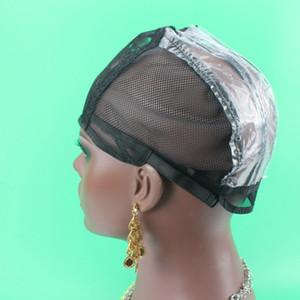 1pc Wig Cap für die Herstellung von Perücken verstellbare Riemen Maschine gemacht Weaving Cap Foundation Innen Inner-Haar-Verlängerung einschlag Weave
