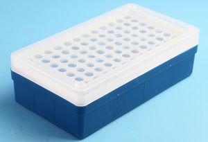 1.5 ml de plástico micro tubo de centrífuga stand titular caixa de 96 posição laboratório caixa de socketstube centrífuga.