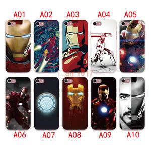 Новый стиль Железный Человек чехол для iPhone x 8 7 6 6 S плюс силиконовый чехол роскошные ультра тонкий мягкий ТПУ для iPhone 5 4 se мобильный телефон сумка