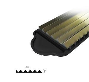 الألومنيوم المموج الضفر الشعر الكهربائية مستقيم الشعر المكشكش رقيق صغير موجات الشعر بكرو الشباك أدوات التصميم