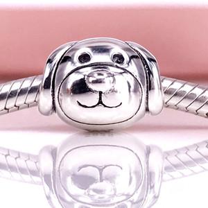 Authentique argent sterling 925 dévoué chien Charm Fit DIY Bracelet et collier Pandora 791707