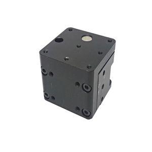 정밀 수동 리프트 Z 축 수동 랩 잭 수직 이동 스테이지 엘리베이터 광학 슬라이딩 리프트 5mm 트래블 PT-SJ80