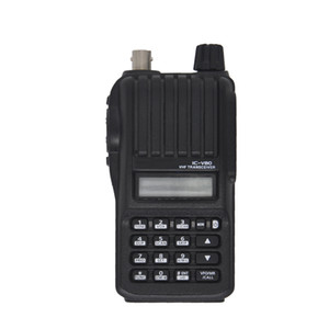 IC-V80 VHF Marine Analog Two Way Radios Alta calidad Walkie Talkie jamón