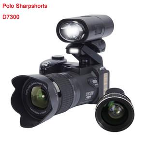 2020 PROTAX Smart D7300 Digitalkameras 33 MP Professionelle DSLR-Kameras 24X optischer Zoom Tele 8X Weitwinkel-Objektiv-LED-Scheinwerfer-Stativ