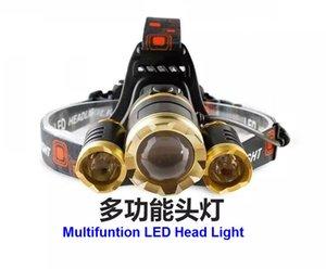 3XCREE XML T6 LED Scheinwerfer Scheinwerfer 3led Scheinwerfer Für LED Fahrrad Licht Outdoor Sport LED Fahrradbeleuchtung Für Reiten Abenteuer Notfall