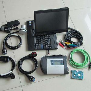 MB STAR C4 avec écran tactile de l'ordinateur portable X200T avec hotes 320 Go Soft-Ware pour MB Diagnostic Tool Fonction WiFi Prêt à être utilisé