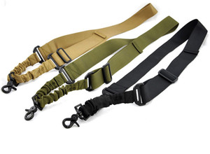 Single Point Sling für AR-15 M4 Tactical Verstellbarer Bungee Einpunkt Gun Sling Rifle Schultergurt