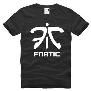 LOL Fnatic Team LOGO Spiel Uniformen Herren Männer T-shirt 2017 Neue Kurzarm Casual Baumwolle T-shirt T-stück Camisetas Hombre