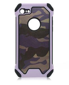 Camo Camouflage Pattern 2 nel caso della parte posteriore della calotta di protezione del telefono 1 pelle Armatura duro per l'iphone 6 6plus di iphone Caso Phone 7 7plus