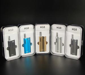 Hibron H10 Kutusu Mod Kiti 650 mAH Tomurcuk CE3 Buharlaştırıcı Kalem Yağ Ecig Gizli Tankı ile 0.8 ml Conseal PE Vape toptan