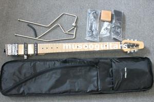MINISTAR BRAND CASTAR-II TRAVEL 전기 귀고리와 메이플 지판 CARRYING BAG