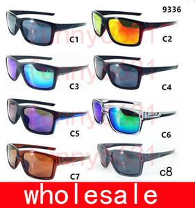MOQ = 10PCS nagelneue bunte populäre Windradsport-Spiegel-Sport-im Freienbrillen-Schutzbrillen-Sonnenbrille für Frauen-Männer 8colors geben Verschiffen frei