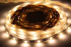 Free Shipping 5m roll SMD5050 Flexible LED Strip Light 30leds m DC24V DC12V LED Tape Ribbon IP20 IP65 IP68 White Warm White RGB color