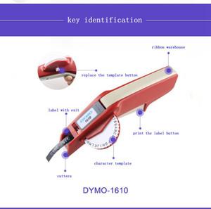 Dymo1610 manuel etiket makinesi yumruk 3D ile bir kalıp makinesi kodlama makinesi fiyat kesim plotter