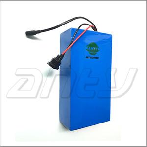 Elektrische Fahrradbatterie 72v 20Ah 1500w Roller-Lithium-Batterie 72v mit 84v 5A Ladegerät 30A BMS e Fahrradbatterie 72v Freies Verschiffen
