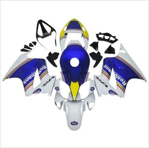 Motocicleta carenado kit para HONDA VFR800 2002 2003 2004 2005 2006 2012 VFR 80002 03 04 05 06 12 ABS Blanco Azul Set de carenados + 3gifts VB08
