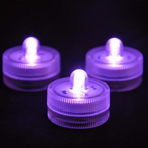 Luces de buceo Luces de vela Luz de acuario Luz de vela LED impermeable Luz de vela de boda Luz de vela