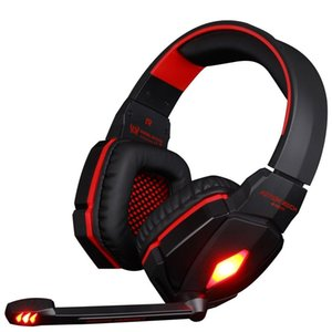 EACH G4000 USB Stereo Surround Sound Superior Quality Noise-Cancelling Headset Game Headphone Led Light with Mic for PC Computer