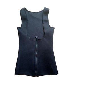Gute A ++ Reißverschluss Dame Schweiß Weste Kunststoff Körper Kleidung Neopren 3 Schicht Patch PM022 Frauen Shapers