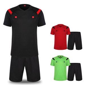بدلة كرة القدم للحكم بدلة من معدات كرة القدم للحكام جيرسي ذات الألوان الصلبة للرجال والنساء
