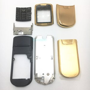 Новейший корпус для Nokia 8800 Замена корпуса Золотой / Серебристый / Черный цвет Полный корпус Полная замена корпуса Замена