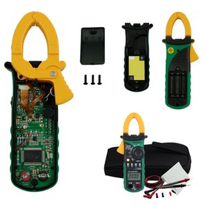 Freeshipping Auto range Digital Clamp Meter Multimeter AC 400A Current Voltage Frequency clamp MultiMeter Tester Backlight