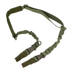 التكتيكية 2 نقاط ل بندقية حبال مبطن تعديل الثقيلة فصل سريع الشبح بنجي بندقية حبال حزام حزام نظام