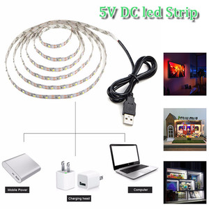 5V DC 300 LED 5M 3528 SMD RGB led string super bright led strip with retail box non-waterproof также в продаже