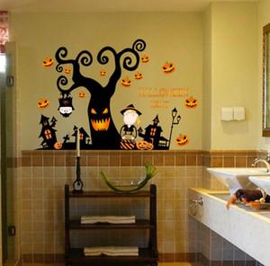 -Halloween çıkartmaları malzemeleri dekorasyon odaları PVC bebek için çok iyi kalite iyi satıcı eğer endişeli varsa size iade edebiliriz