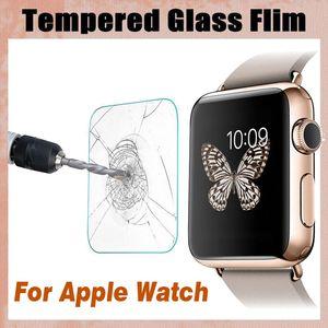 강화 유리 9H 증거 프리미엄 폭발 가드 스포츠 보호 필름 화면 보호기 애플 시계 시리즈 4 3 2 1 40mm 44mm 38mm 42mm
