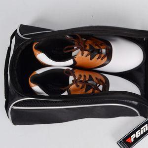 PGM Sports Noir Housse de chaussures Accessoires Chaussures de golf Sac BIGGER THICKER