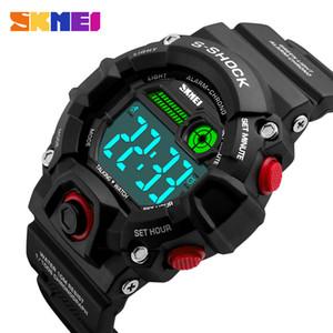 SKMEI 1162 Men Sports Watches LED Digital Talking Watch Multifunction Music Alarm Clock Man Waterproof Wristwatches Relogio Masculino