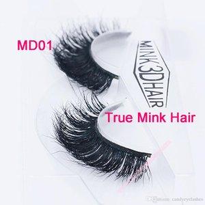 MD01 100% ручной работы реального норки длинные ресницы 3D полосы норка ресницы толстый поддельные искусственного ресницы макияж красоты накладные ресницы
