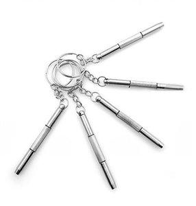 Boa Qualidade Triplo versátil pequena chave de fenda reparar óculos reparação reparação relógio telefone ferramenta aplicável DHL grátis frete